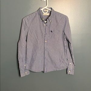 Abercrombie striped dress shirt